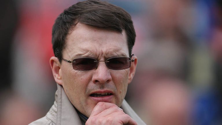 Aidan O'Brien: Reflects on the action from Meydan