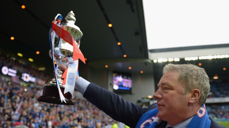 Ally McCoist: Would love to celebrate Second Division title next season