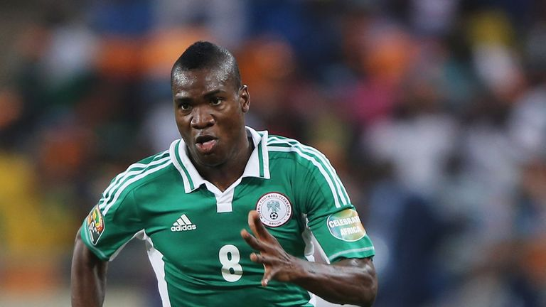 Brown Ideye: Dynamo Kiev's Nigeria striker has attracted Premier League interest