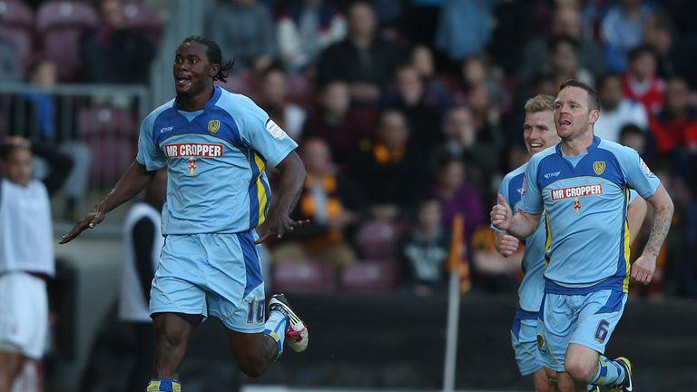 Calvin Zola: Scored two first-half goals