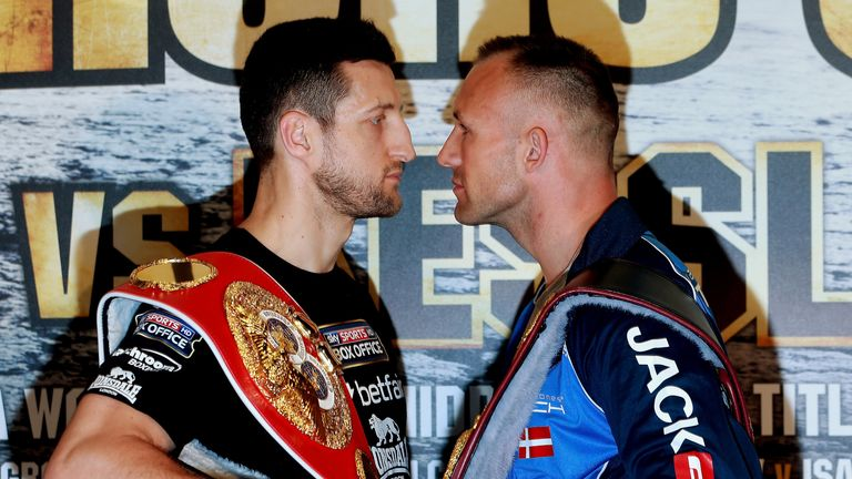 Carl Froch says he will kill Mikkel Kessler if he has to