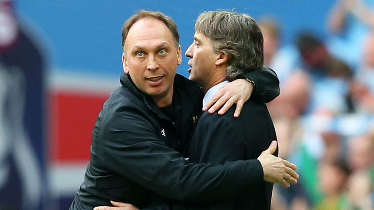 David Platt has decided to follow Roberto Mancini out of the exit door