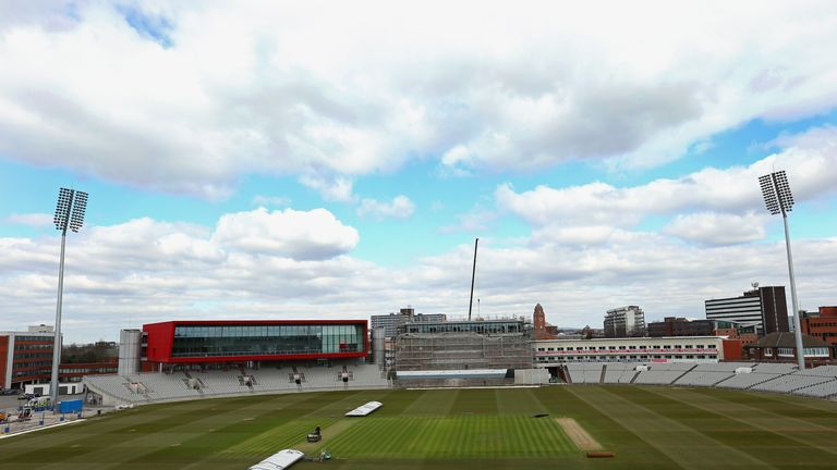 General view of Old Trafford cricket ground, April 2013