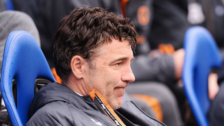 Dean Saunders: Insists he will stay in charge of Wolves