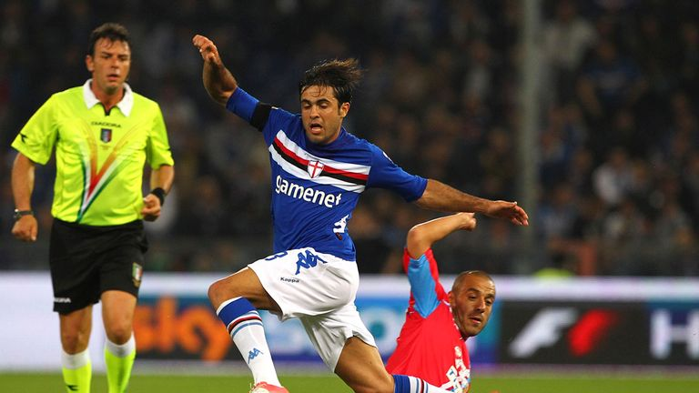 Eder scored for Sampdoria