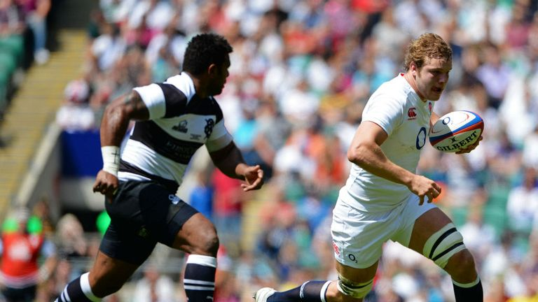 Joe Launchbury is wary of Argentina