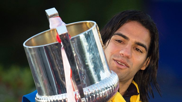 Radamel Falcao: Set his sights on success at Monaco