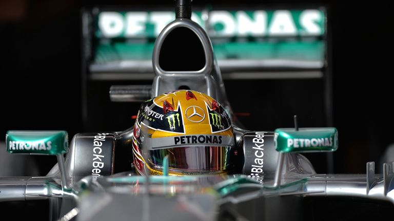 Lewis Hamilton: A work in progress at Mercedes