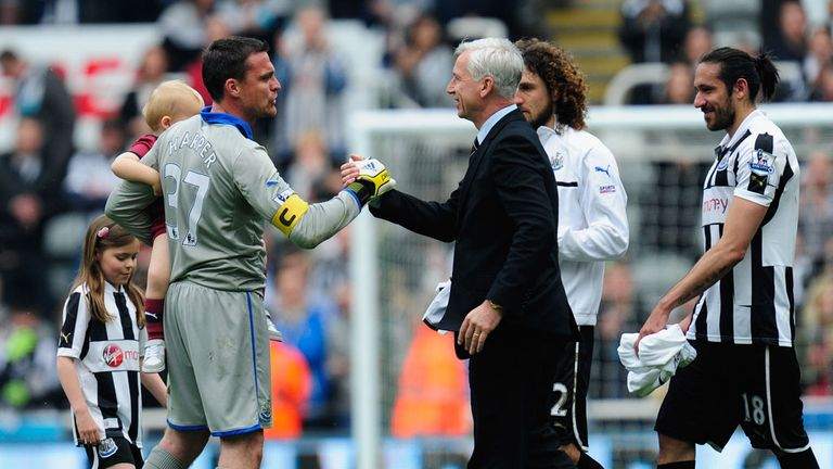 Alan Pardew: Newcastle boss is confident he will be staying