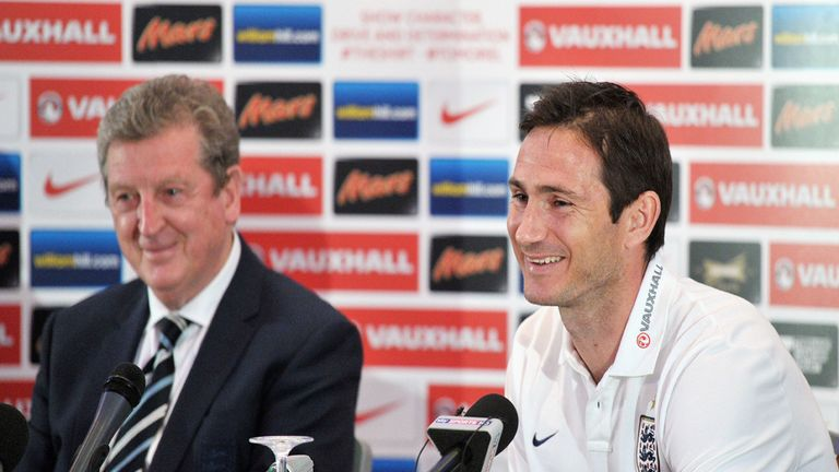 Frank Lampard: England's vice-captain for World Cup finals