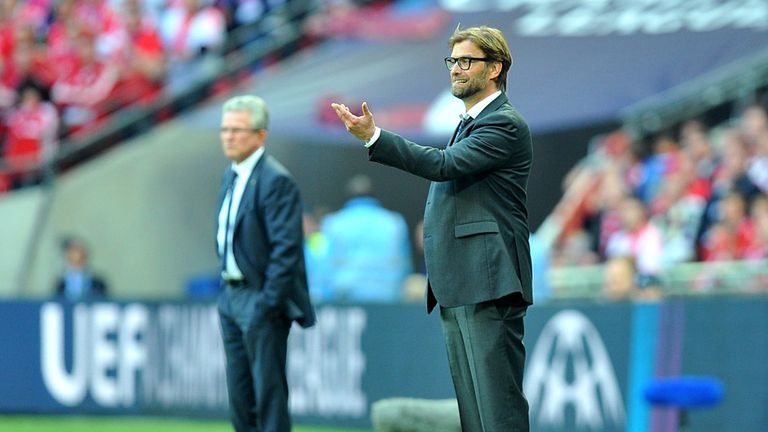 Jurgen Klopp: Bortmund boss was generous in defeat about opposite number Jupp Heynkes