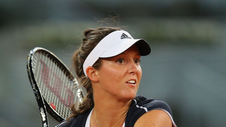 Laura Robson: Failed to finish off Ana Ivanovic in a see-saw third set