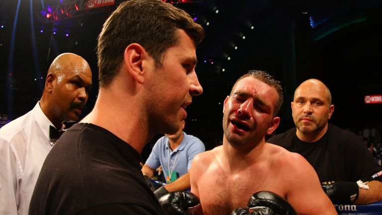 Lee Purdy: Pulled out after seven one-sided rounds by Darren Barker