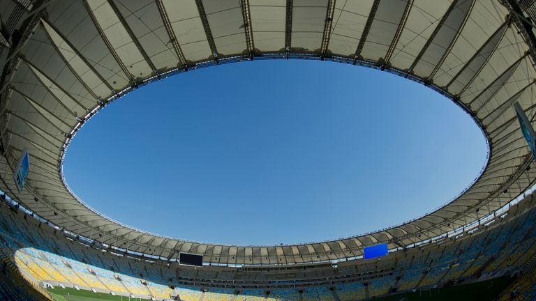 Maracana Stadium: Will be the venue for the 2014 World Cup final