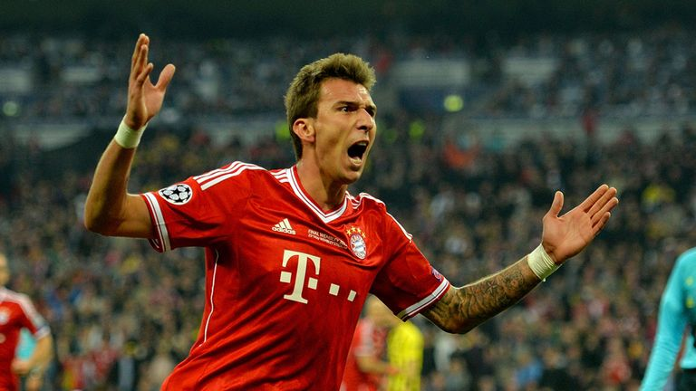 Mario Mandzukic: Croatia and Bayern Munich striker praised by Gordon Strachan