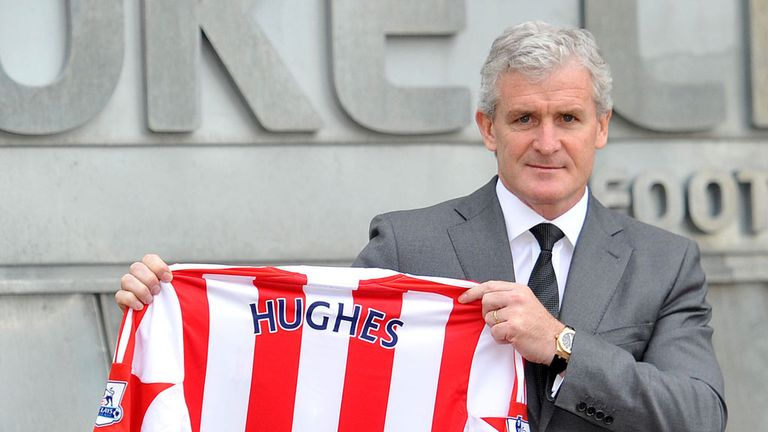 Mark Hughes: Has been assessing the Stoke squad