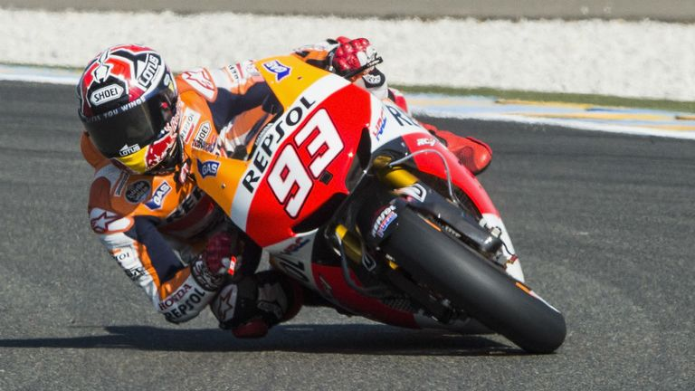 Marc Marquez: On pole for the French MotoGP at Le Mans