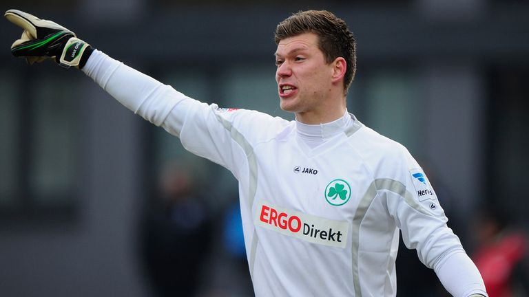 Max Grun: Has joined Wolfsburg on three-year contract