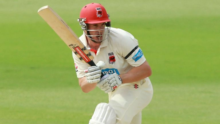 Michael Klinger: Unbeaten on 131 overnight