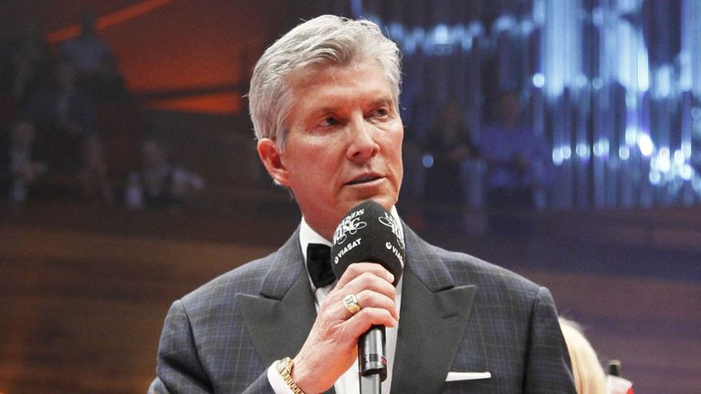 Michael Buffer will be gracing the O2 Arena with his presence on May 25 (Pic Photo Wende)