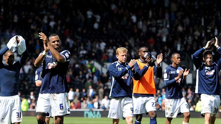 Millwall players: Salute their fans after final day survival