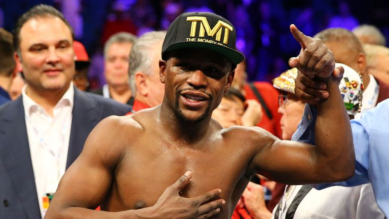 Floyd Mayweather: Keen to showcase his skills in London