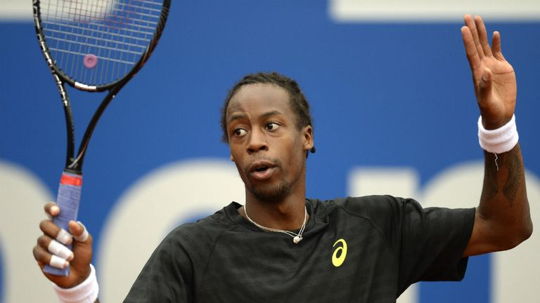 Gael Monfils: Will play Pablo Andujar in the final of Nice event