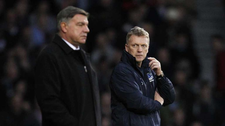 Sam Allardyce ready to lock horns with David Moyes