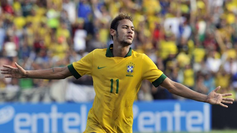 Neymar: England are not World Cup contenders in 2014