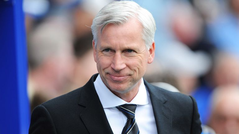 Alan Pardew: Admits he is looking for a striker this summer