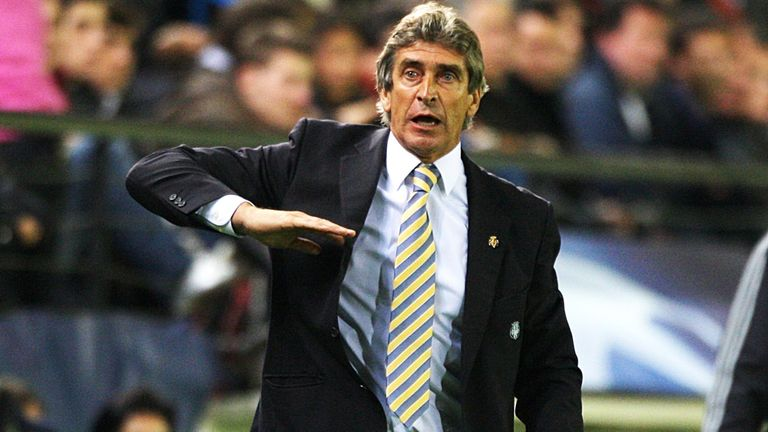 Manuel Pellegrini: Appears to be heading to Manchester City