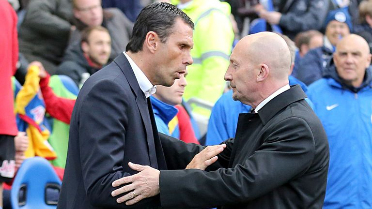 Gus Poyet: Brighton clashed with Ian Holloway's Palace in play-off semi-finals
