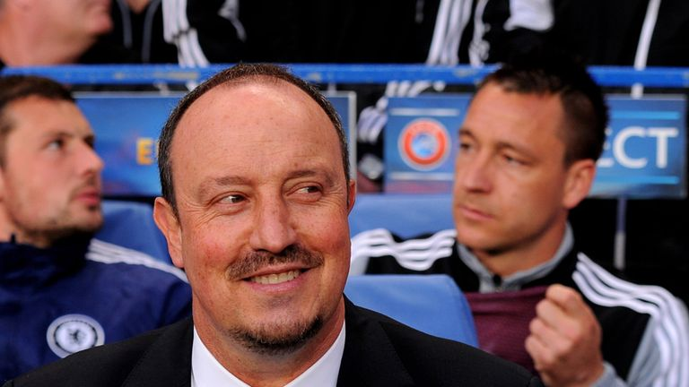 Benitez: Steered Chelsea to win at Old Trafford