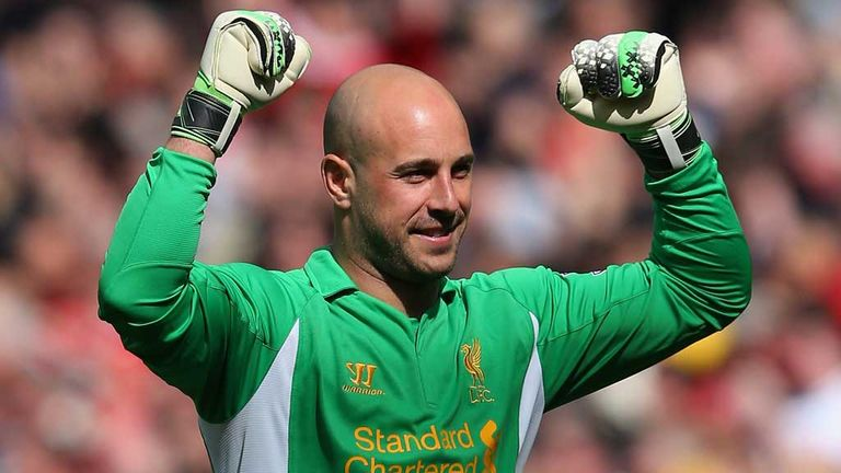 Pepe Reina: Linked with moves to Barcelona and Napoli