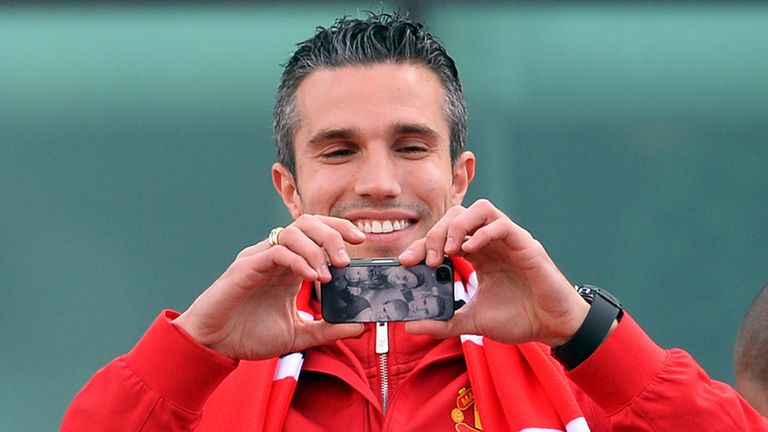 Robin Van Persie: Dismisses myth that Manchester United fans are from outside the city