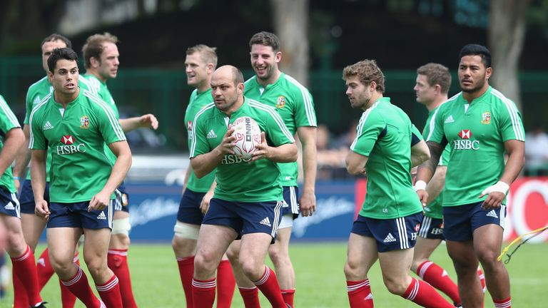 Rory Best (C): Feeling at home after joining up with rest of Lions squad
