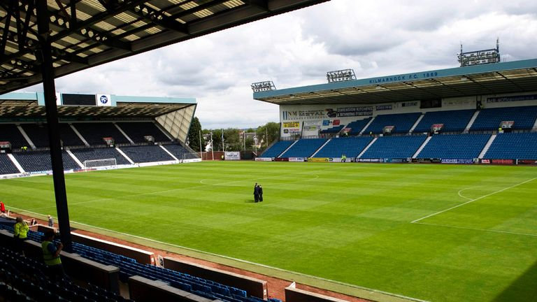 Rugby Park: Abandoned match will now be played on May 15