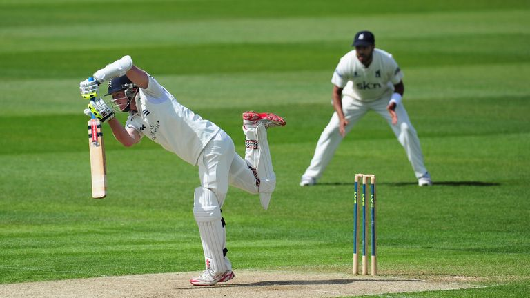 Middlesex opener Sam Robson hopes to drive his county onto the front foot this season