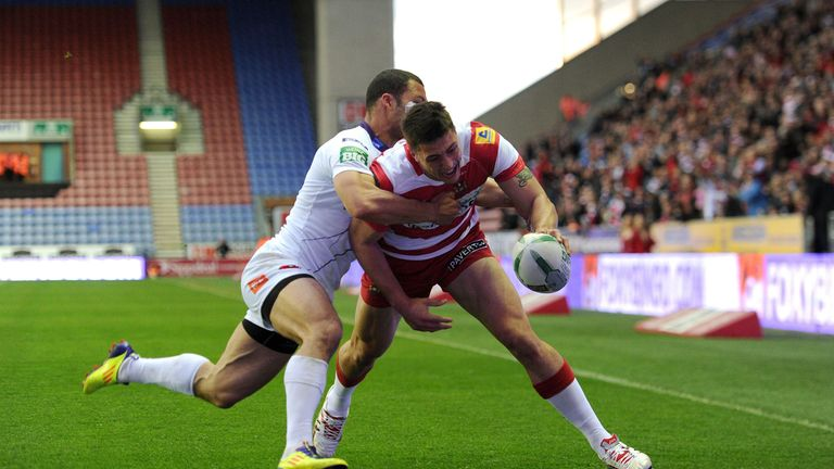 Anthony Gelling: back on treatment table after breaking his collar bone