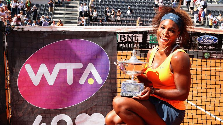 Serena Williams: Heads into French Open on lengthy winning run