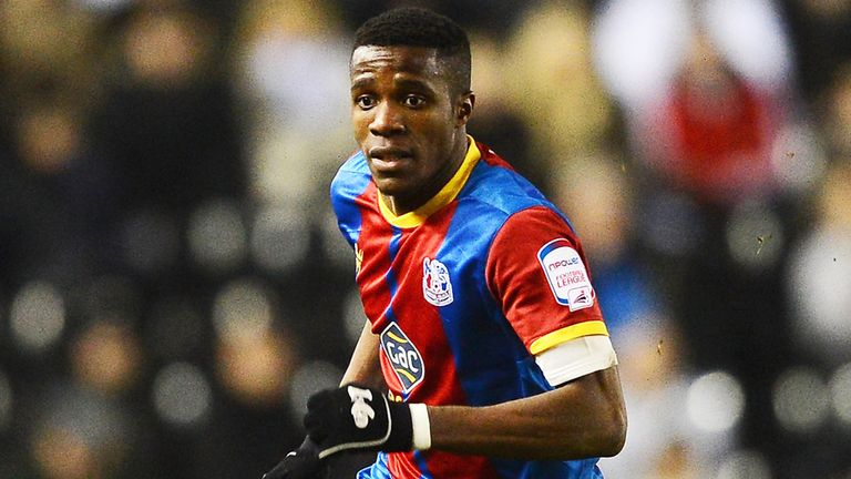 Wilfried Zaha: Backed for success at Manchester United