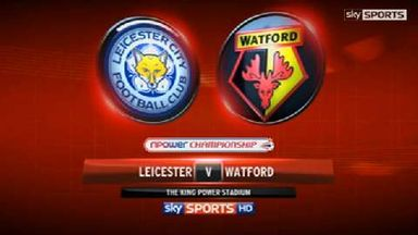 Leicester 1-0 Watford