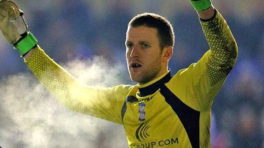 Colin Doyle: Has played second fiddle to Jack Butland this season