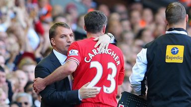 Brendan Rodgers: Warm tribute to Jamie Carragher