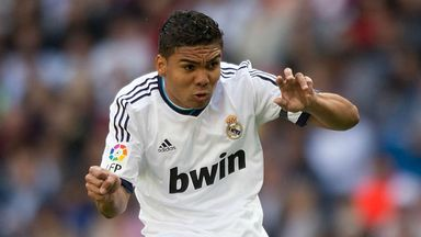 Casemiro: Joining Real Madrid on a four-year deal