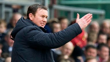 Derek Adams: Focused on the festive fixture list
