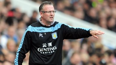 Paul Lambert: Believes Villa are getting 'better and better'