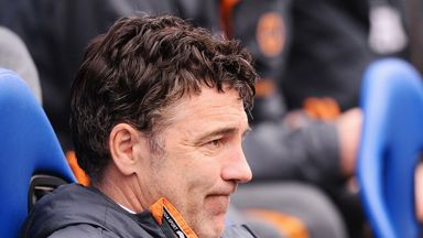 Dean Saunders: Crawley beaten by the better team
