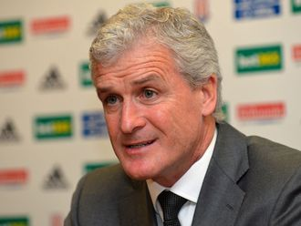 Mark Hughes: Appointed Stoke manager three weeks ago