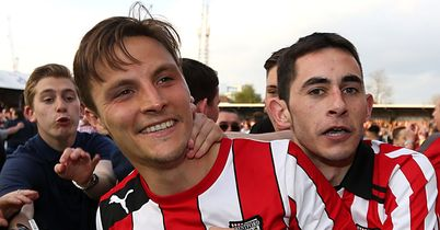 Brentford: Celebrations at booking Wembley spot